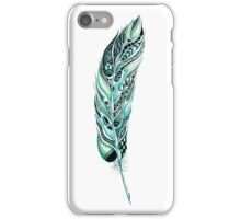 Tribal Feather Illustration iPhone Case/Skin
