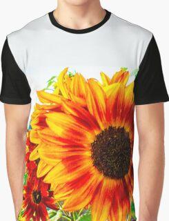 Autumn Orange Graphic T-Shirt