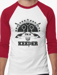 I'm A Keeper (Gryffindor) Men's Baseball ¾ T-Shirt