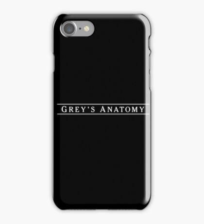 Grey's iPhone Case/Skin