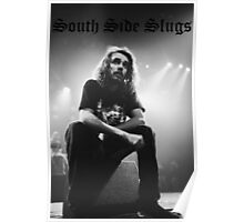 Pouya South Side Slugs Old English Poster