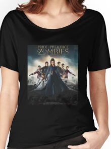 Pride + Prejudice + Zombies  2016 Women's Relaxed Fit T-Shirt