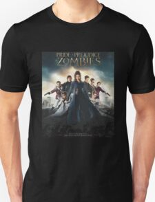 Pride + Prejudice + Zombies  2016 Unisex T-Shirt