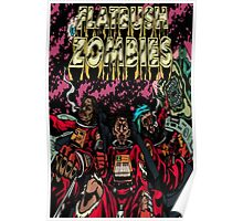 Flatbush Zombies Space Odyssey  Poster