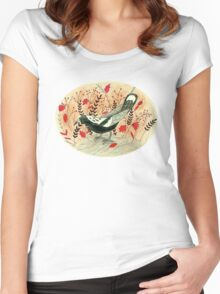 Baby the Magpie Women's Fitted Scoop T-Shirt