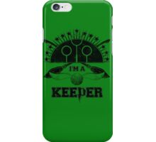 I'm A Keeper (Slytherin) iPhone Case/Skin