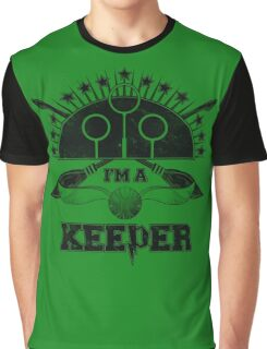 I'm A Keeper (Slytherin) Graphic T-Shirt