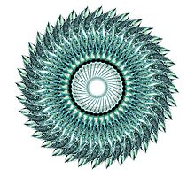 Tribal Feather Mandala Photographic Print