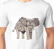 Tribal Elephant by Kat Costello Unisex T-Shirt