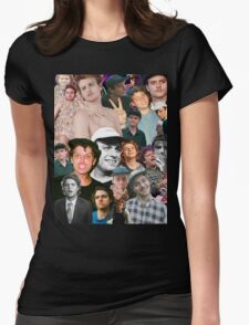 Mac DeMarco Collage Womens Fitted T-Shirt