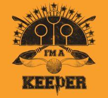 I'm A Keeper (Hufflepuff) by Kallistiae