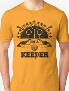 I'm A Keeper (Hufflepuff) T-Shirt