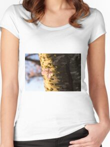 Petals and Scars Women's Fitted Scoop T-Shirt
