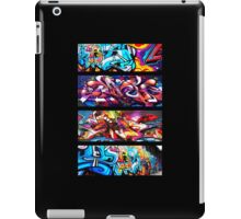 Graffitee'd (Black) iPad Case/Skin