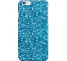 Swimming pool water iPhone Case/Skin