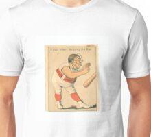 """Vintage Baseball Card """"A Close Affair"""" Unisex T-Shirt"""