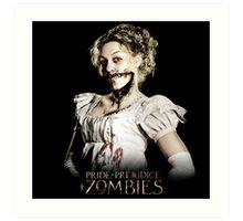 Pride + Prejudice + Zombies  2016 Movie Art Print