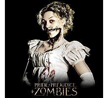 Pride + Prejudice + Zombies  2016 Movie Photographic Print