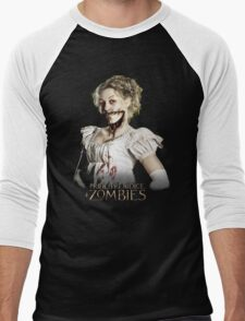 Pride + Prejudice + Zombies  2016 Movie Men's Baseball ¾ T-Shirt