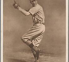 Grover C. Alexander Baseball Card by reddkaiman