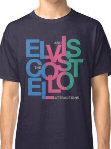 Elvis Costello (Black) Classic T-Shirt