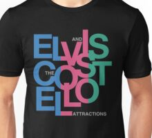Elvis Costello (Black) Unisex T-Shirt