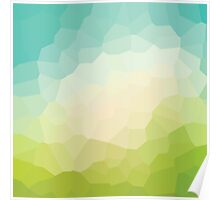 abstract crystal design Poster