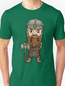 Lord of the Rings - Gimli the Dwarf with Axe T-Shirt