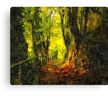 """The Path to Serenity"" Canvas Print"