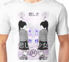 S a d G i r l s Unisex T-Shirt