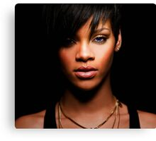 Cool Rihanna by omans Canvas Print