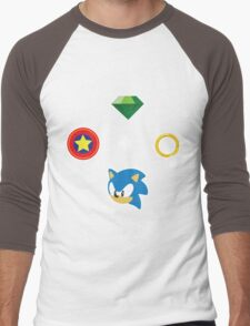 Gotta Go FAST! Men's Baseball ¾ T-Shirt