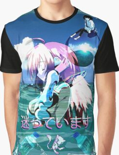 Ikaros Vaporwave Graphic T-Shirt