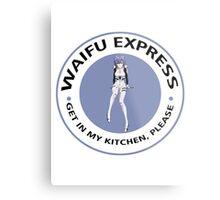 Waifu Express - Rei Ayanami (Blue) Metal Print