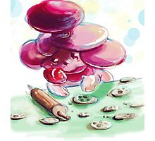 Slurpuff's world famous cookies! Photographic Print
