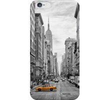 5th Avenue Yellow Cab - NYC iPhone Case/Skin