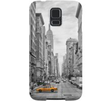 5th Avenue Yellow Cab - NYC Samsung Galaxy Case/Skin