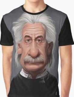 Celebrity Sunday - Albert Einstein Graphic T-Shirt