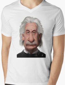 Celebrity Sunday - Albert Einstein Mens V-Neck T-Shirt
