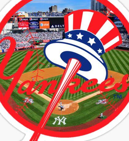 New York Yankees Stadium Logo Sticker