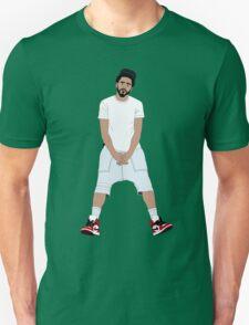 J Cole Full Body Cartoon T-Shirt