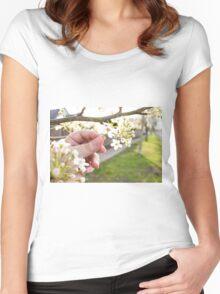 Petal Pick Women's Fitted Scoop T-Shirt