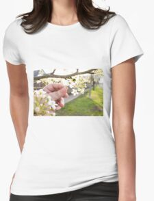 Petal Pick Womens Fitted T-Shirt