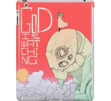 GoD is Watching iPad Case/Skin