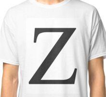 Z - Zees  Classic T-Shirt