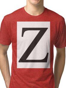 Z - Zees  Tri-blend T-Shirt