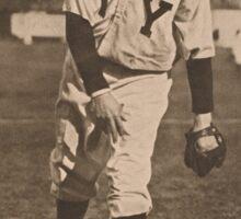 Christopher Mathewson Baseball Card Sticker