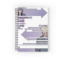arrows Spiral Notebook