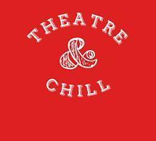 Theatre & Chill - White Unisex T-Shirt