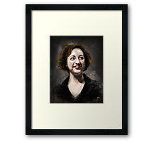 Kristen Schaal Framed Print